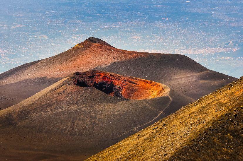 Вулкан Этна. остров Сицилия