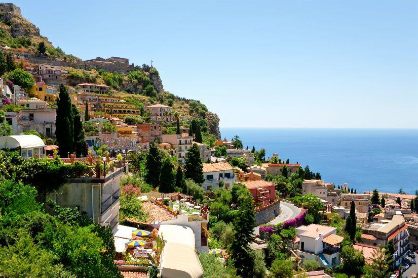 Таормина. остров Сицилия