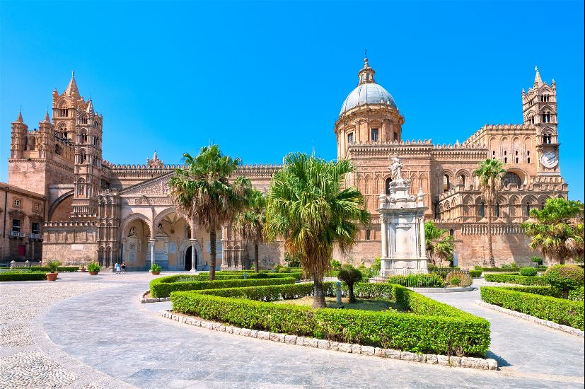 Палермо. остров Сицилия