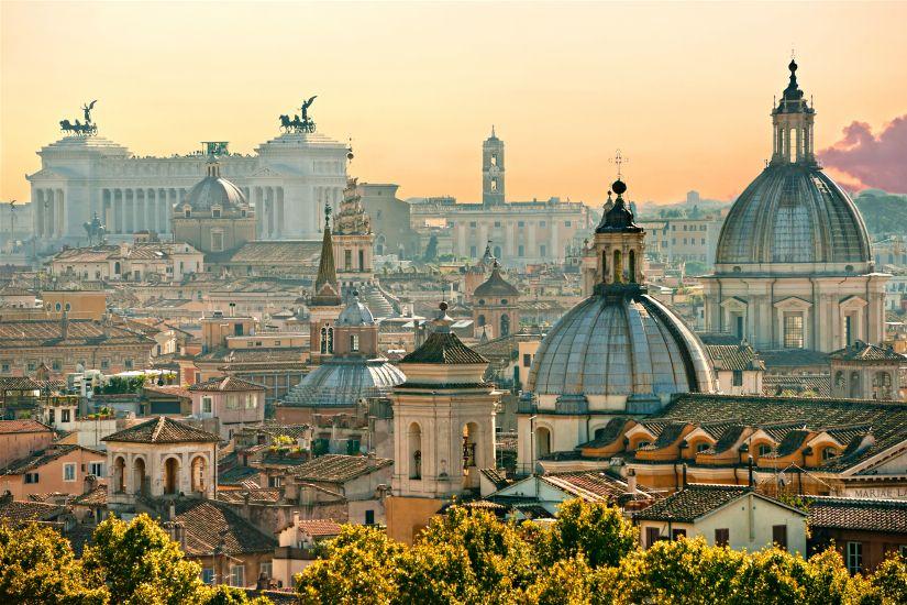 Рим. Вид на город