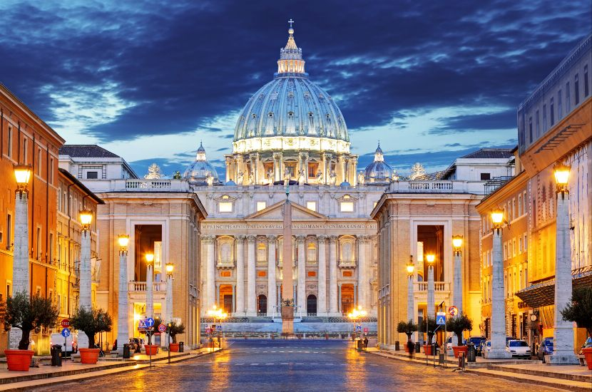 Собор Святого Петра. Ватикан. Рим