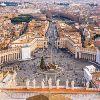 Рим. Ватикан, площадь Св.Петра