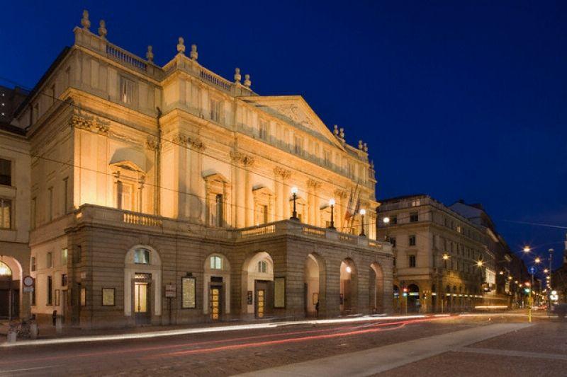 Милан, театр Ла Скала