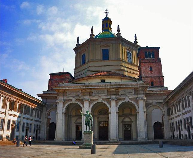 Милан, Basilica di San Lorenzo