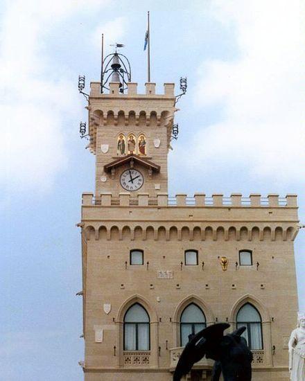 Сан-Марино, Здание парламента