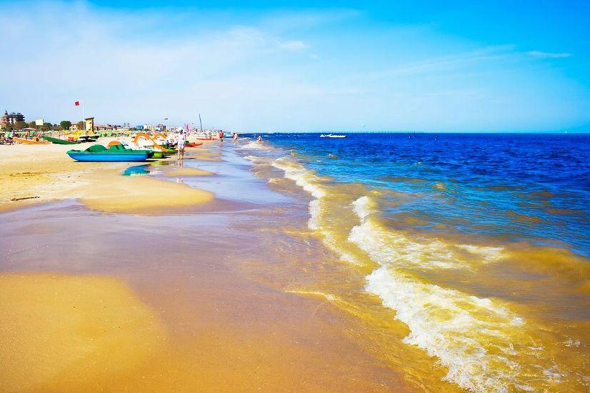 Римини. Пляж