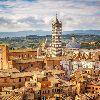Сиена. Панорамный вид