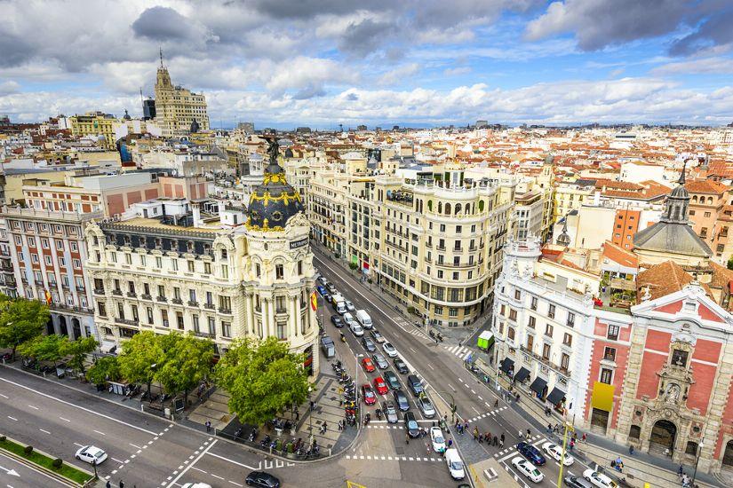 Мадрид. Гран Виа