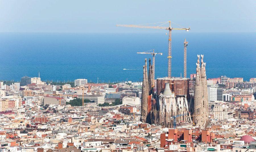 Барселона. Панорама