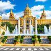 Барселона. Площадь Испании, Национальный музей искусства