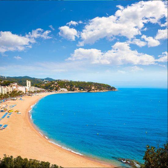Ллорет де Мар. Пляж