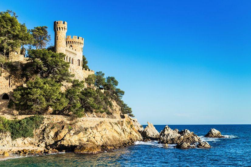 Ллорет де Мар. «Замок на пляже»