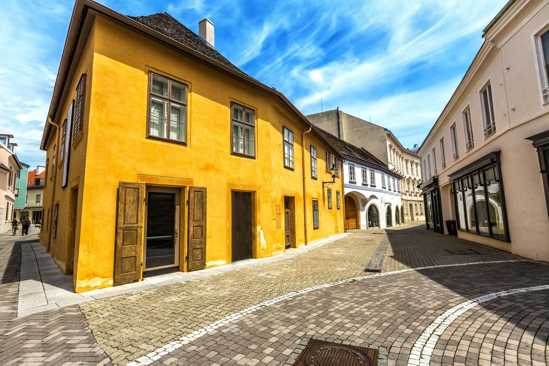 Баден. Улица старого города