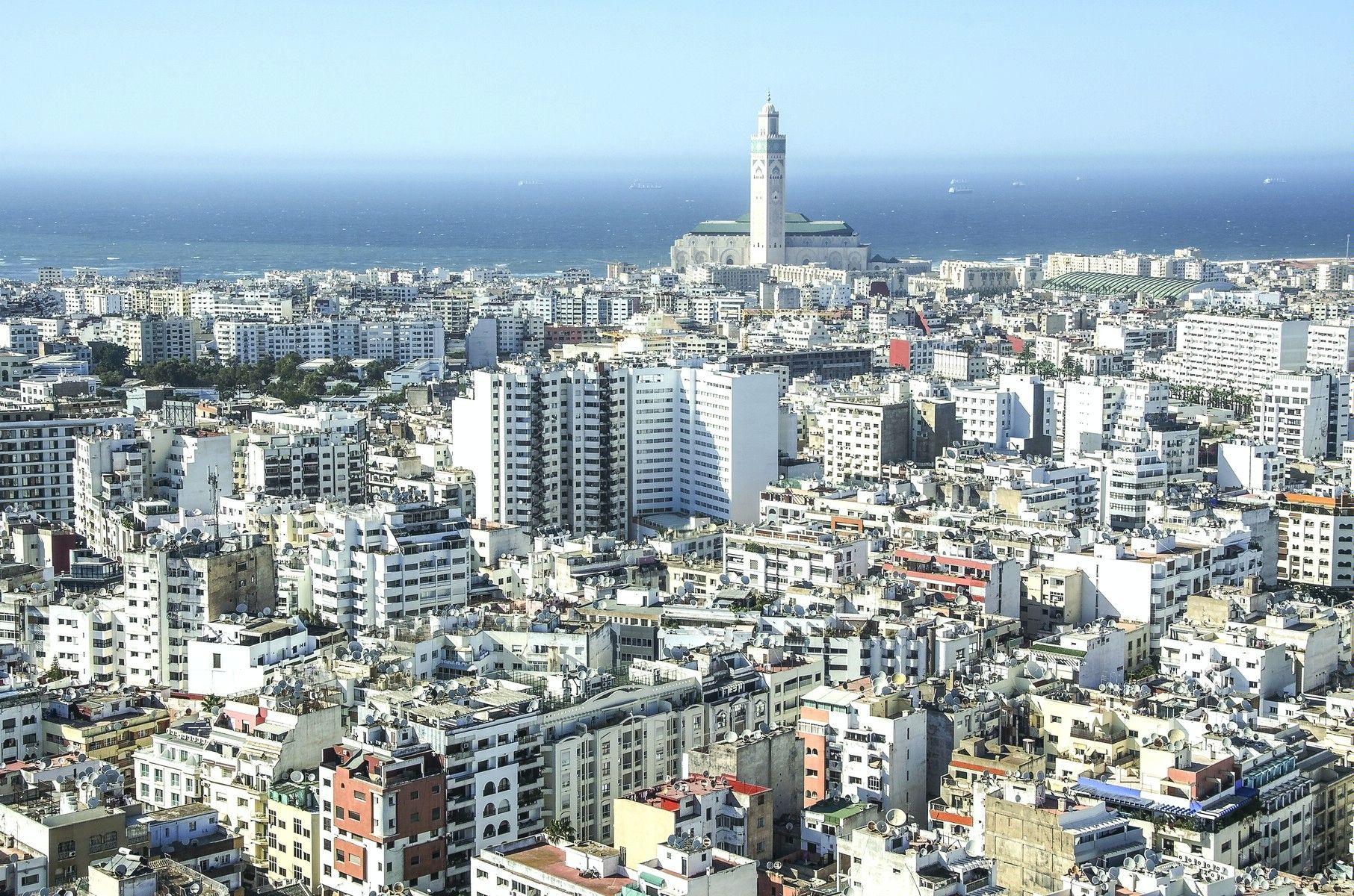 картинка фотография курорта Касабланка в Марокко