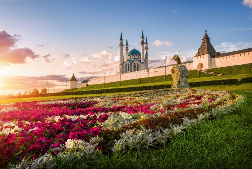 Казань апрель цветы