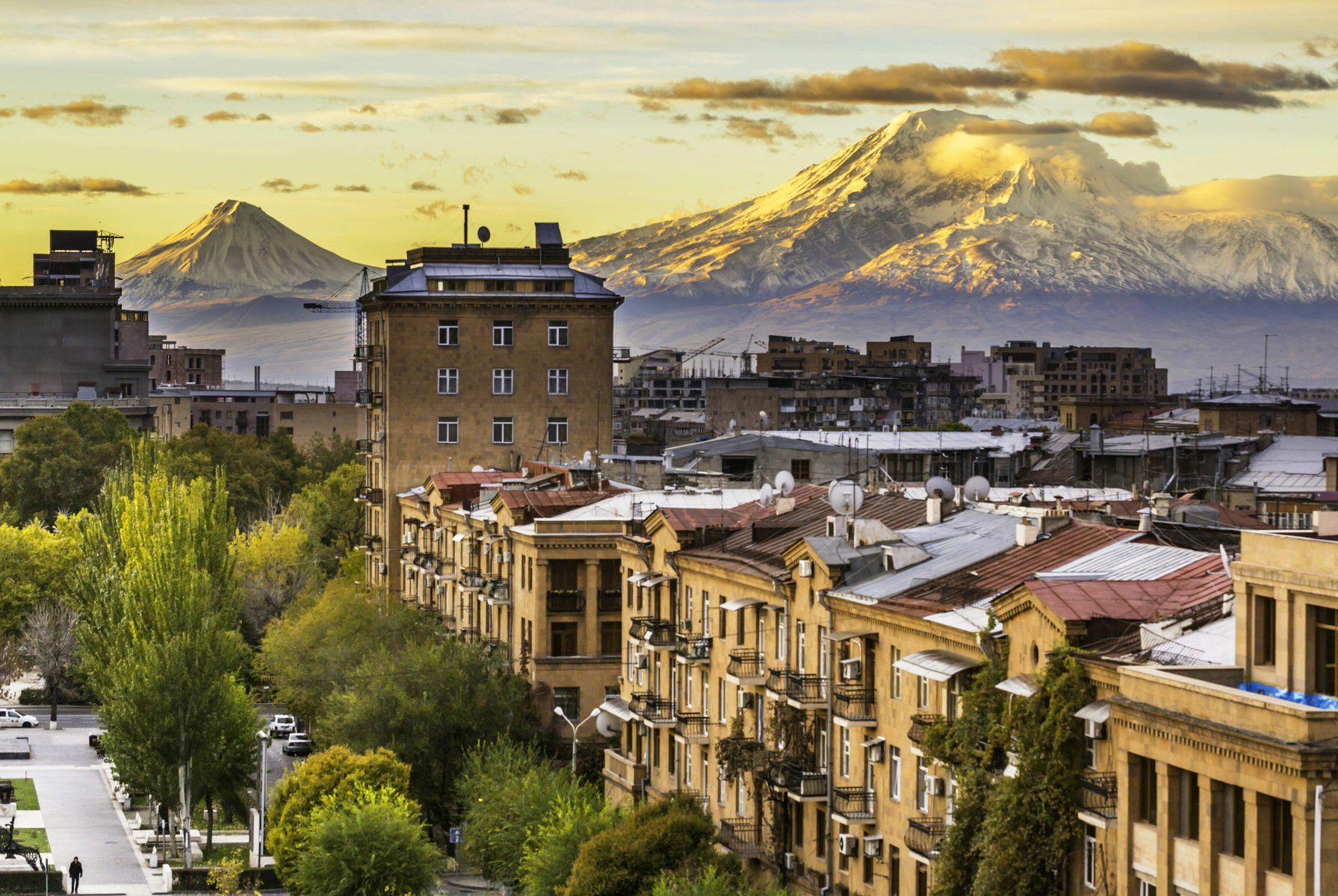 1 день Прилет в Ереван.