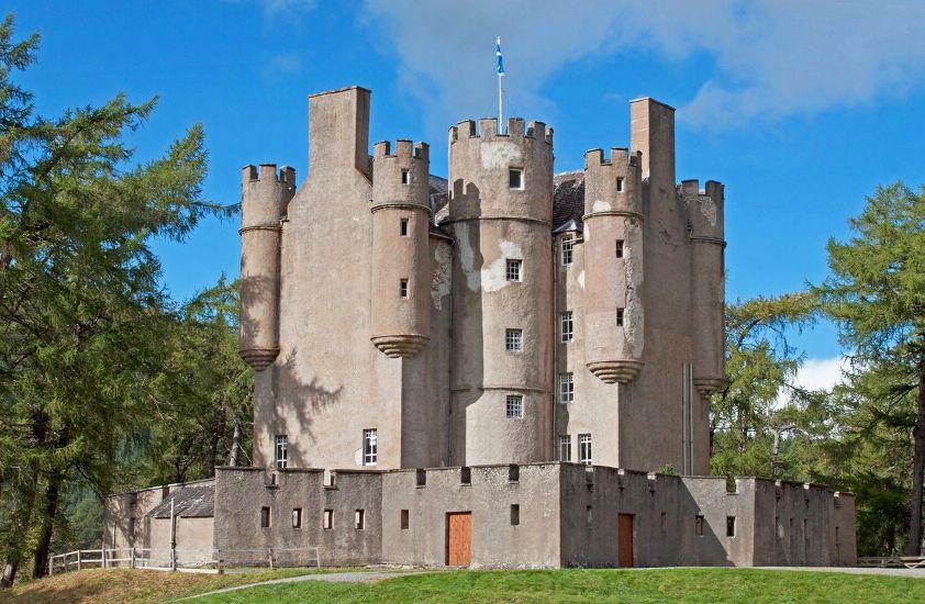 Шотландия. Замок Брэмар (Бремар)
