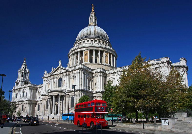 Лондон. Собор святого Павла