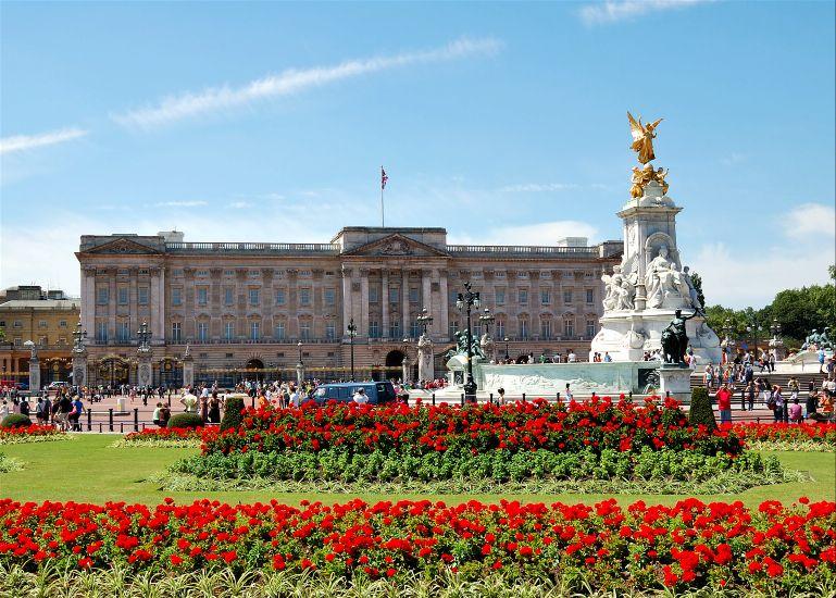 Лондон. Букингемский дворец
