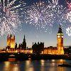 Лондон. Фейерверк над Темзой