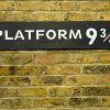 Лондон. Платформа 9 и 3/4 на вокзале Кингз-Кросс («Гарри Поттер»)