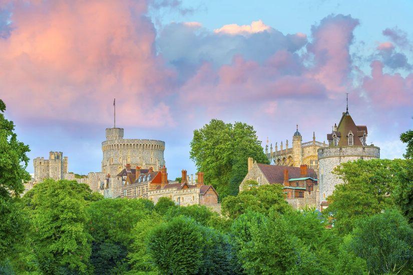 Виндзор. Круглая башня Виндзорского замка