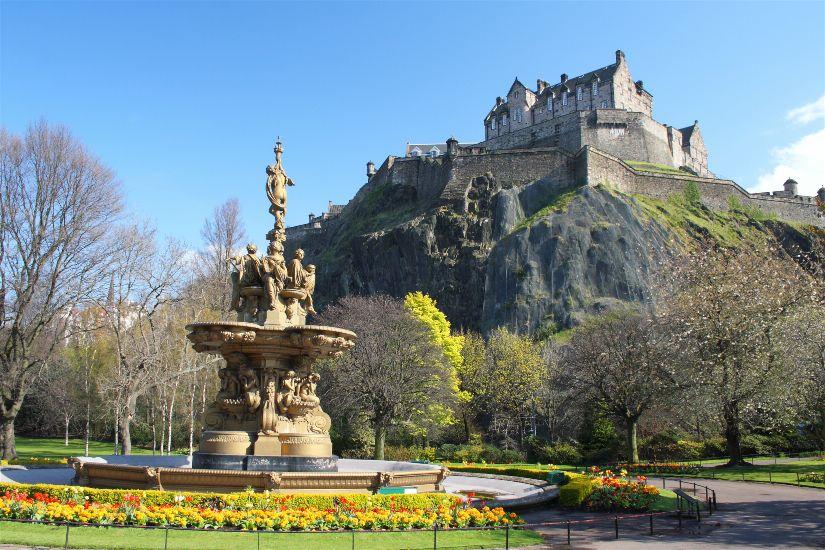 Эдинбург. Эдинбургский замок