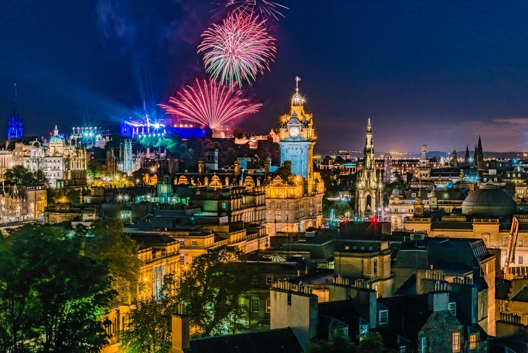 Новогодний Эдинбург