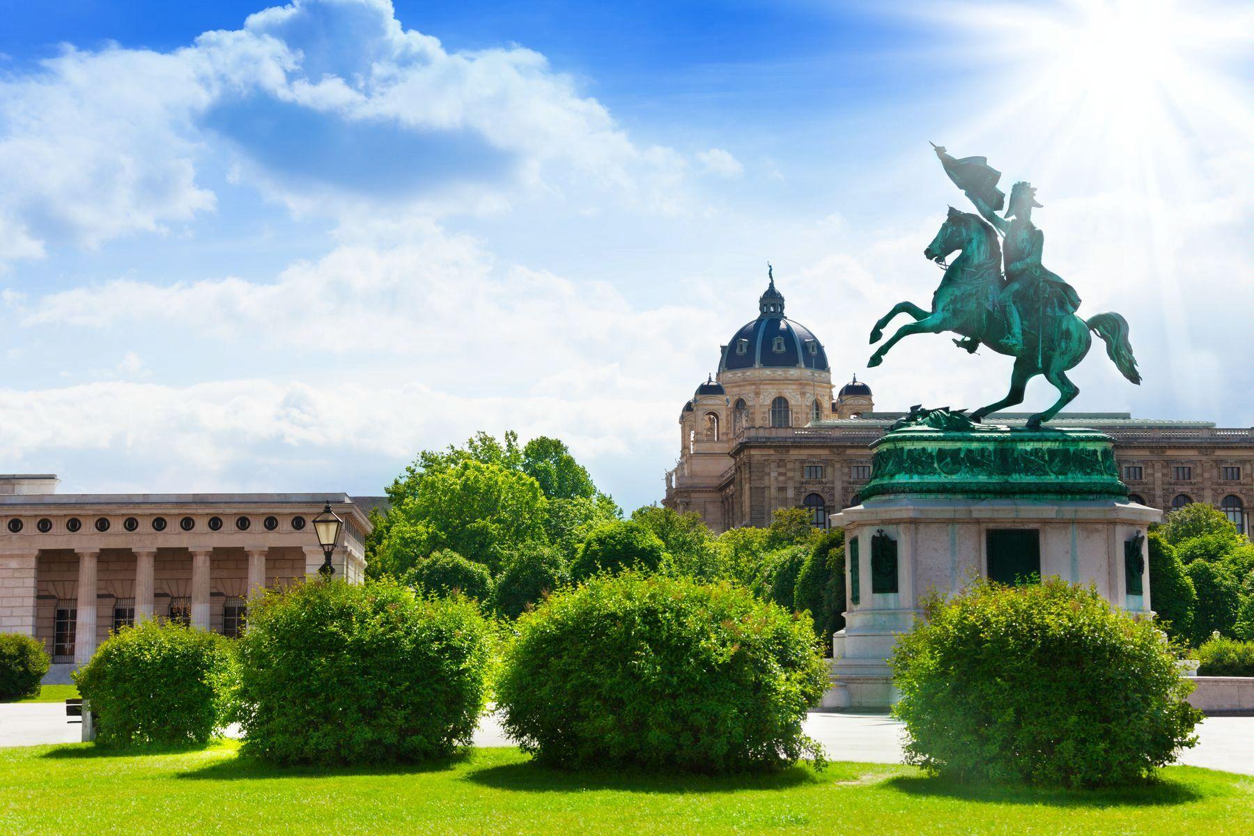 Вена. Австрийская национальная библиотека
