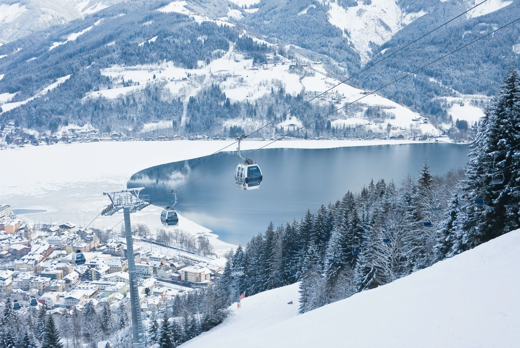 Открывая Целль ам Зее - Капрун! Курорты Австрии!