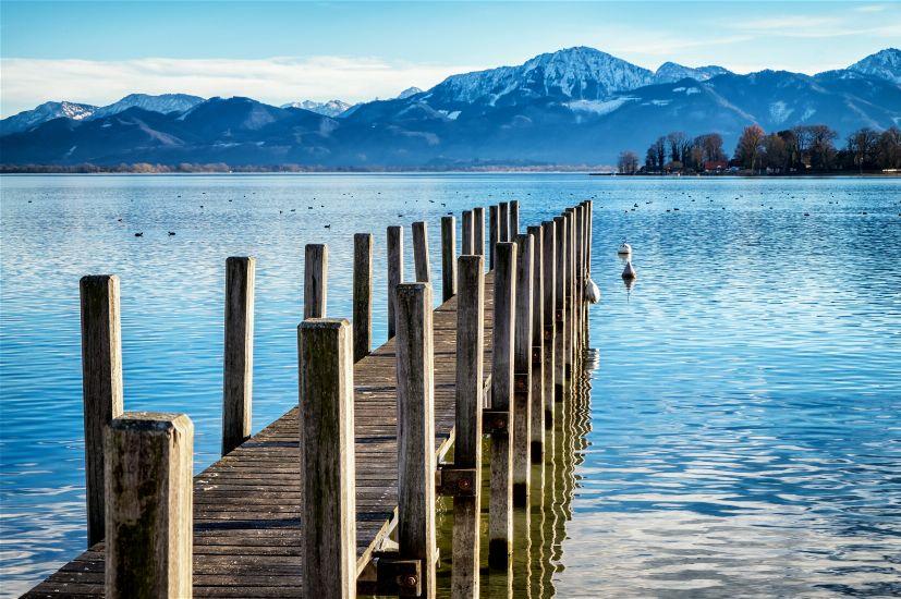 Озеро Кимзее. Бавария
